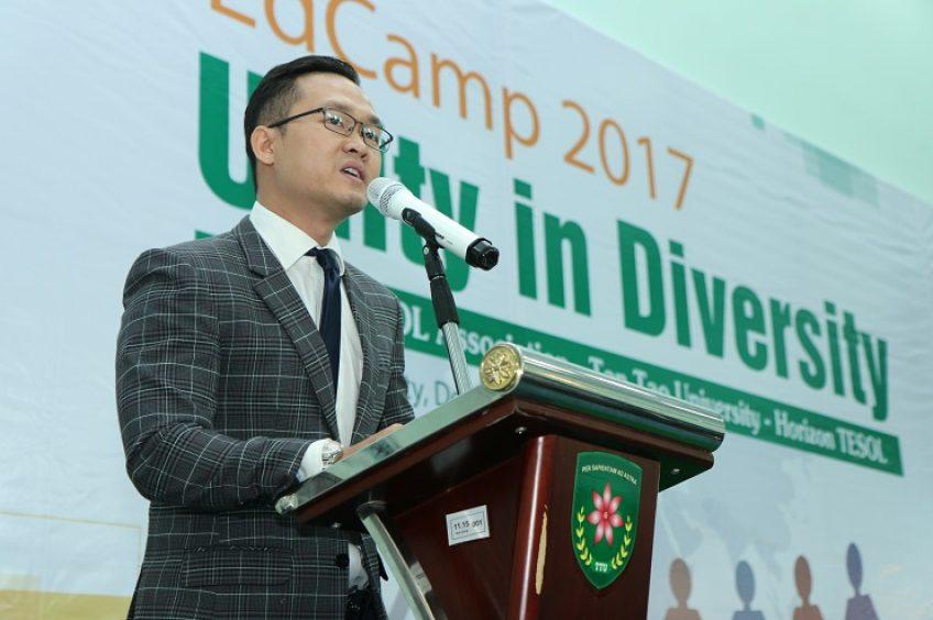 Trường Đại học Tân Tạo tổ chức hội thảo chuyên môn tiếng Anh EdCamp HCMC 2017