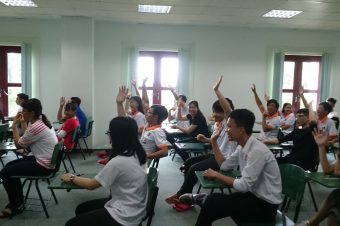 An Intensive Summer English Course for New Students