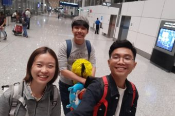 Travelling and experiencing with students of School of Humanities and Languages of Tan Tao University (TTU)